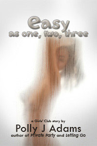 Easy as One, Two, Three by Polly J Adams (sexual fantasies, girl on girl, threesome, mfm, shower sex, gym sex, masturbation, public sex, first time sex, sexy stories, lesbian, menage, explicit, handjob, blowjob)