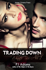 Trading Down (Winner Takes All 1) (wealthy, bad boy, romantic thriller, rags to riches, mysterious past, romantic suspense, conman, double-crosser, maine romance, one-night stand, dangerous lover)